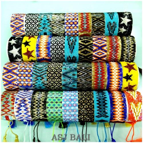bali crystal beads miyuki bracelets tassels large