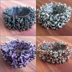 bali stretches beads bracelets handmade bali