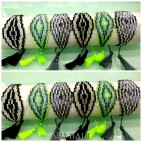 crystal beads miyuki bracelets handmade tassels