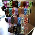 mix motif crystal beads miyuki bracelets tassels