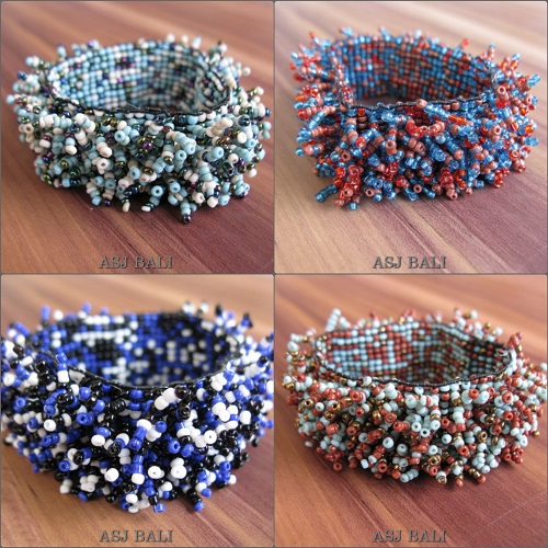 new stretching beaded bracelets multiple grass
