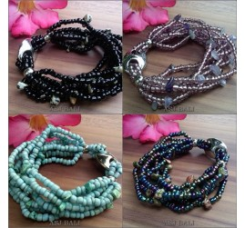 balinese stretching beads bracelet fashion