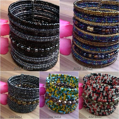 handmade balinese cuff bracelets wide long