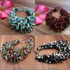 multi wrapted beads bracelets bali