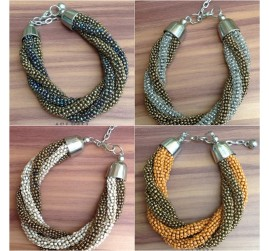 4wrap seeds beads bracelets two color