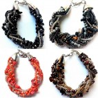 bracelet beads stone crystal fashion bali