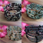 cuff beads bracelets glass bali style fashion