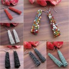 beads earrings stick designs new style