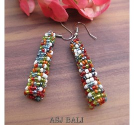 beads earrings stick designs new mix color
