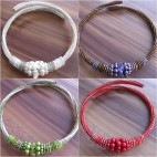 chokers necklaces beads bali 4color