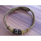 chokers necklaces beads golden color bali