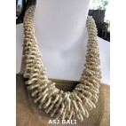 necklaces chokers multi wrapted beads natural