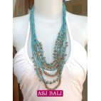 beads charms necklaces fashion bali design
