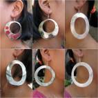 6 model mother pearls seashells earrings bali