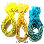 3color friendship hemp bracelets tassels strings