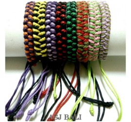 bali leather genuine hemp bracelet wholesale