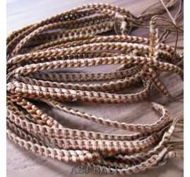 genuine leather hemp bracelets handmade natural