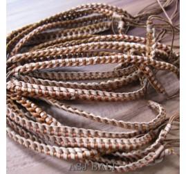 genuine leather hemp bracelets handmade natural