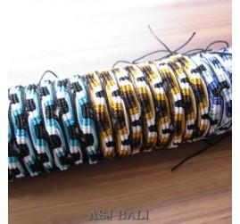 mix color hemp bracelet strings bali