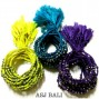 tassels hemp bracelets friendship three color