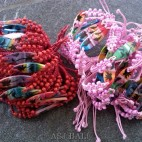 two color hemp bracelets surf bali