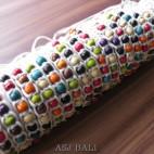 wooden beads hemp bracelets handmade bali