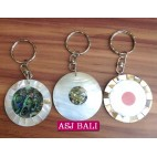 3model seashells keychain rings handmade bali