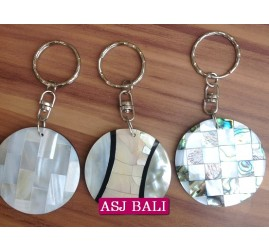 bali seashells keyrings resin handmade 3 model