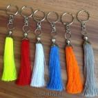 mix color tassels keychain rings handmade bali
