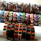 mix designs handmade hemp bracelets bali