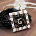 bracelets beads seashells stretch nautilus