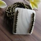 bracelets beads pendant sea shells stretched gold