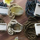 mix bracelets beads pendant seashells stretch