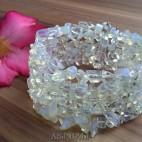 cuff beads bracelets stone crystal transparant