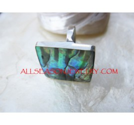 Abalone Shells Rings