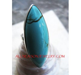 Turquoise Rings Silver