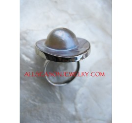 Women Silver Rings Shells