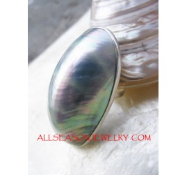 Bali Silver Rings Shells