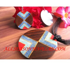 Women Necklaces Wood