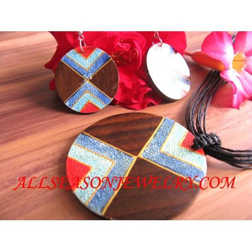 Women Necklaces Wood