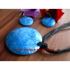 Capiz Necklaces Pendant