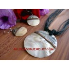 Fashion Jewelry Set Necklaces Earrings Handmade Shells