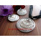 Nautilus SeaShell Sets Pendant Necklaces Earrings