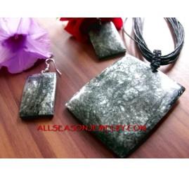 Necklaces Capiz Set