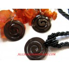 Spiral Shell Necklaces