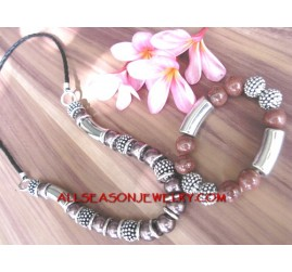 Jewelry Set Bali Beaded
