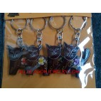 Key Holder Chain Handbags Handmade Hand Painting
