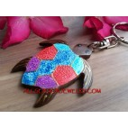 King Turtle Wood Charms