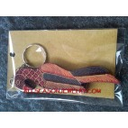 Wooden Batik Key Rings