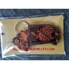 Wooden Key Chain Batik